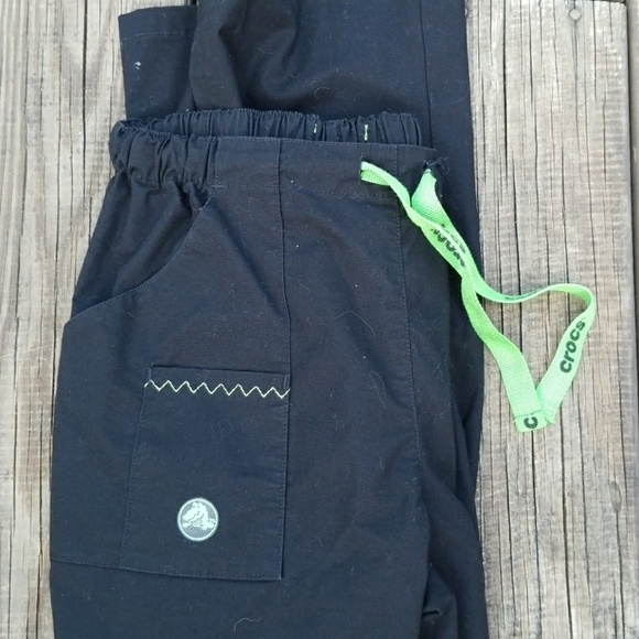 abc32e54857 CROCS Pants | Medical Apparel Black Xs Scrub | Poshmark